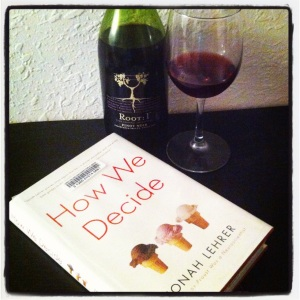 A good book always pairs well with a good glass of wine!